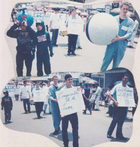 Desfile del 15 de setiembre de 1999