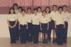 Del año 1999 el grupo de quinto grado