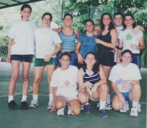 Nuestro equipo de basket femenino del año 1999