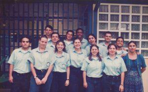 ¡¡El grupo de undécimo del año 1996 fue nuestra primera generación de graduados!!