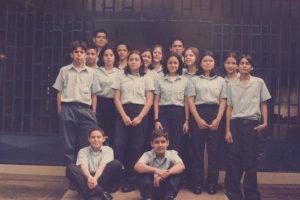 El grupo de sétimo en 1999