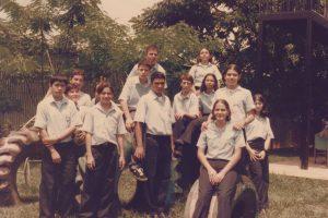 El grupo de octavo año en 1999