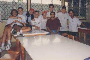 En 1998 iniciaron los clubes en nuestra institución. Estos son los integrantes del club de ciencia
