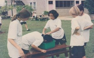 Recordamos una de las actividades que se realizaron en 1998 para la diversión de nuestros alumnos.