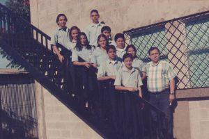 Participantes en las olimpiadas de matemáticas del año 1999