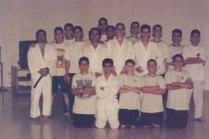 En 1999 varios de nuestros alumnos eran parte de el club de Artes Marciales