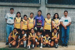 Equipo de fútbol sala de la escuela del año 1999