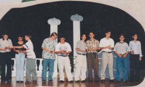 Noche de premiación 1999