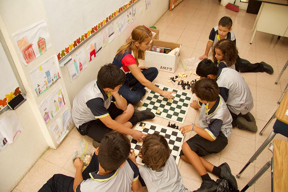 Club de Ajedrez para la escuela