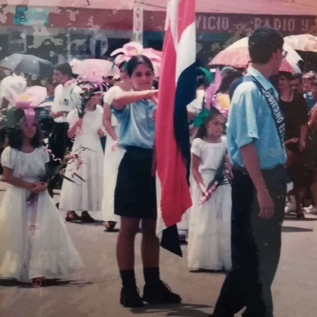 Desfile 15 de setiembre 1997